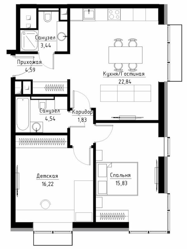 Квартира в ЖК Метрополия корпус Рим.png